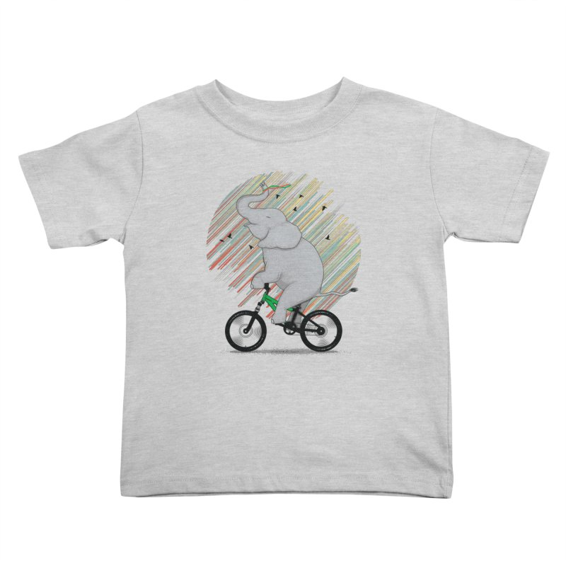 It's Like Riding a Bike Kids Toddler T-Shirt by yurilobo's Artist Shop