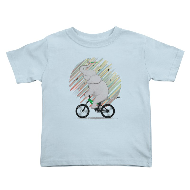 It's Like Riding a Bike Kids Toddler T-Shirt by yurilobo's Artist Shop