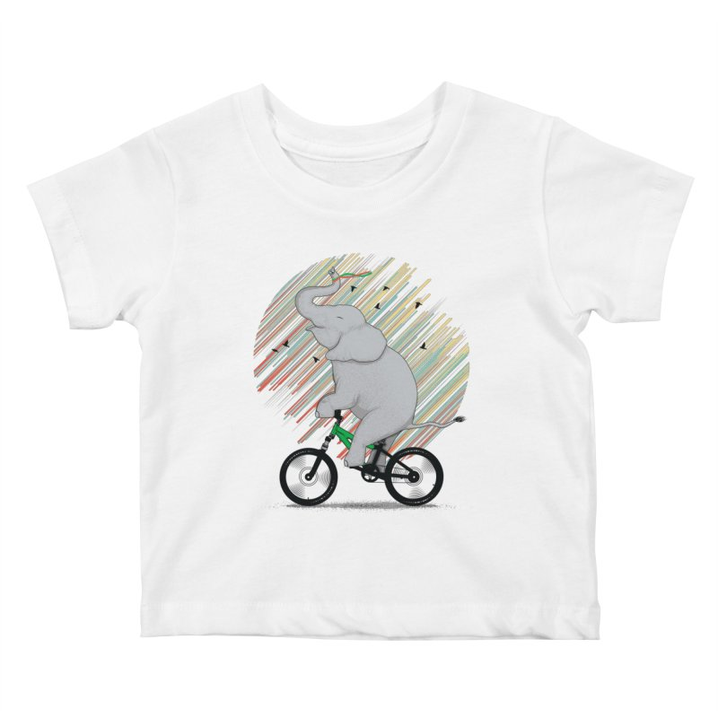 It's Like Riding a Bike Kids Baby T-Shirt by yurilobo's Artist Shop
