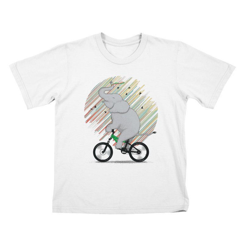 It's Like Riding a Bike Kids T-Shirt by yurilobo's Artist Shop