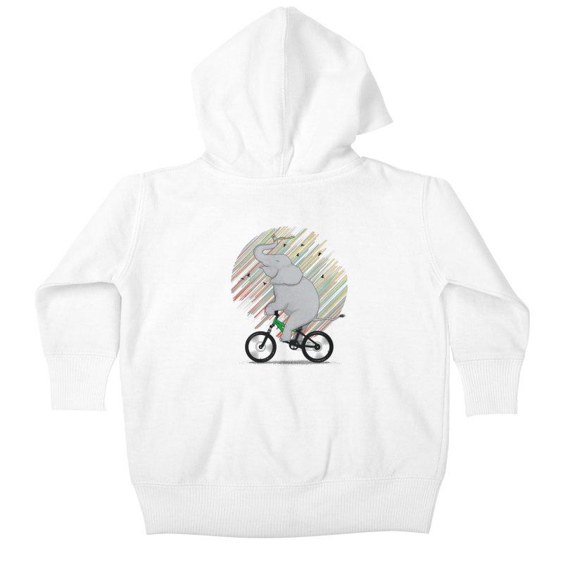 It's Like Riding a Bike Kids Baby Zip-Up Hoody by yurilobo's Artist Shop