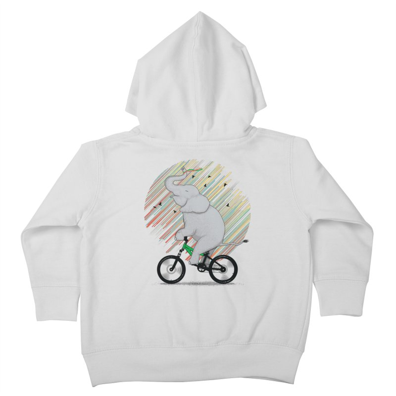 It's Like Riding a Bike Kids Toddler Zip-Up Hoody by yurilobo's Artist Shop