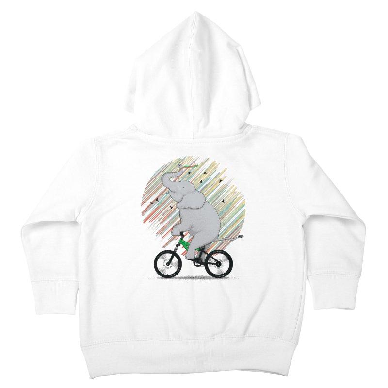 It's Like Riding a Bike Kids Toddler Zip-Up Hoody by yurilobo's Artist Shop