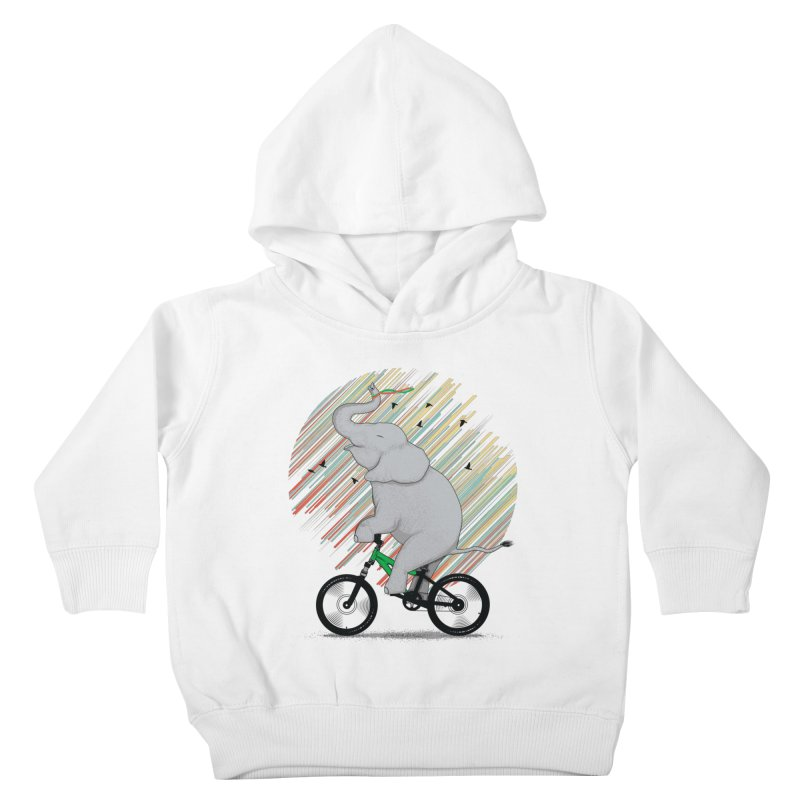 It's Like Riding a Bike Kids Toddler Pullover Hoody by yurilobo's Artist Shop
