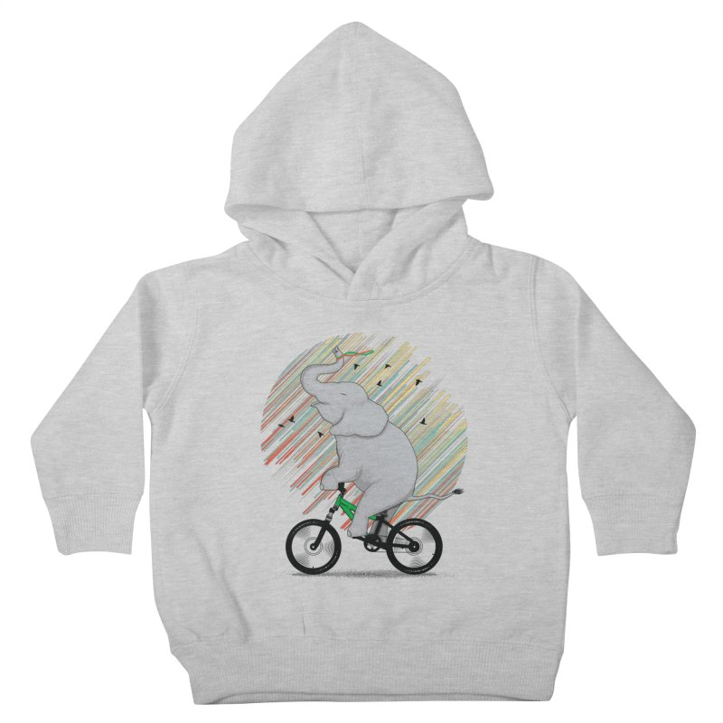 It's Like Riding a Bike Kids Toddler Pullover Hoody by yurilobo's Artist Shop