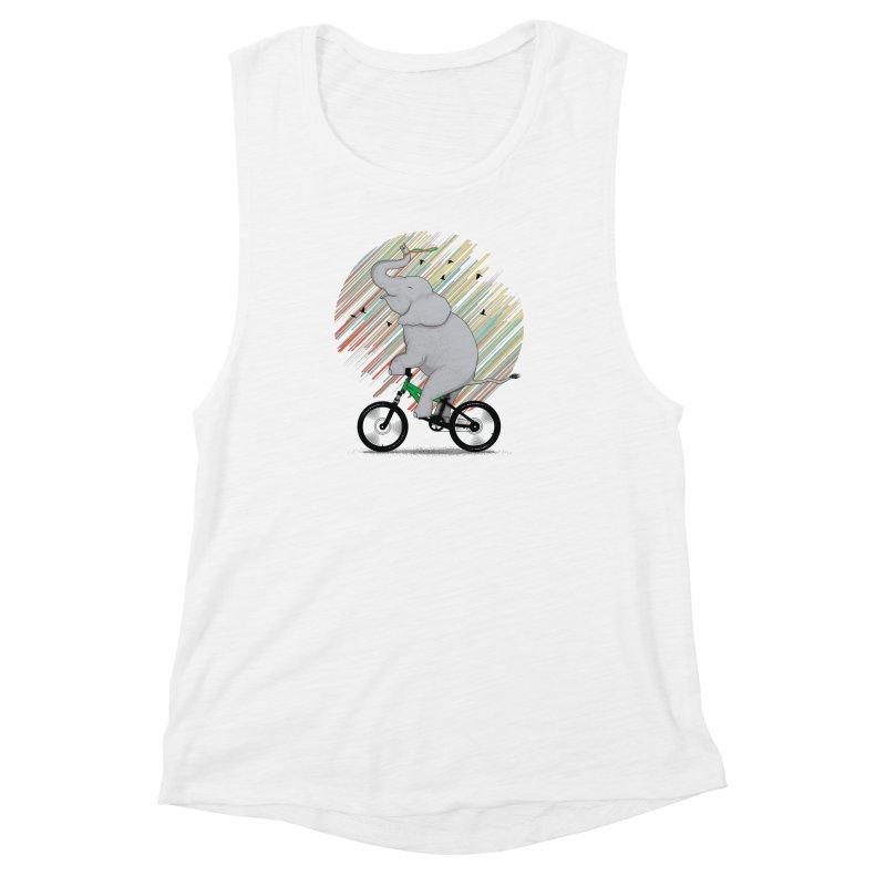 It's Like Riding a Bike Women's Muscle Tank by yurilobo's Artist Shop