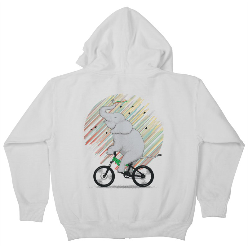 It's Like Riding a Bike Kids Zip-Up Hoody by yurilobo's Artist Shop