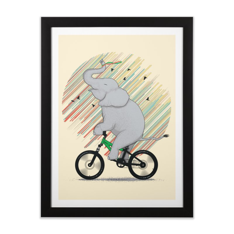 It's Like Riding a Bike Home Framed Fine Art Print by yurilobo's Artist Shop