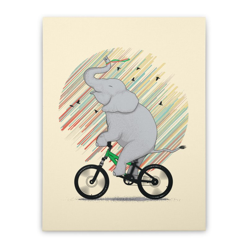 It's Like Riding a Bike Home Stretched Canvas by yurilobo's Artist Shop