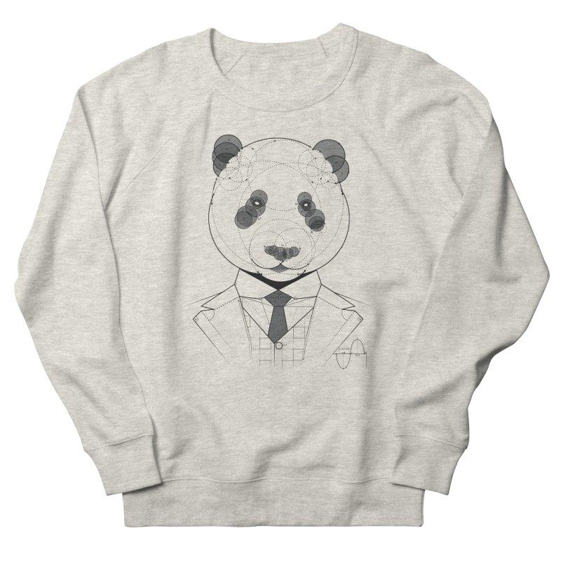 Geometric Panda Women's Sweatshirt by yurilobo's Artist Shop
