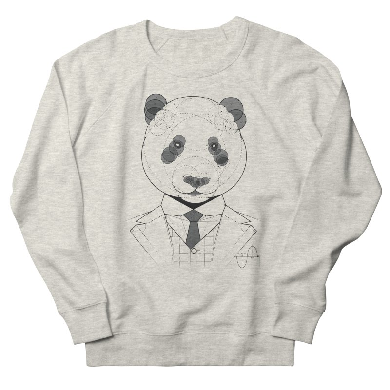 Geometric Panda Men's Sweatshirt by yurilobo's Artist Shop