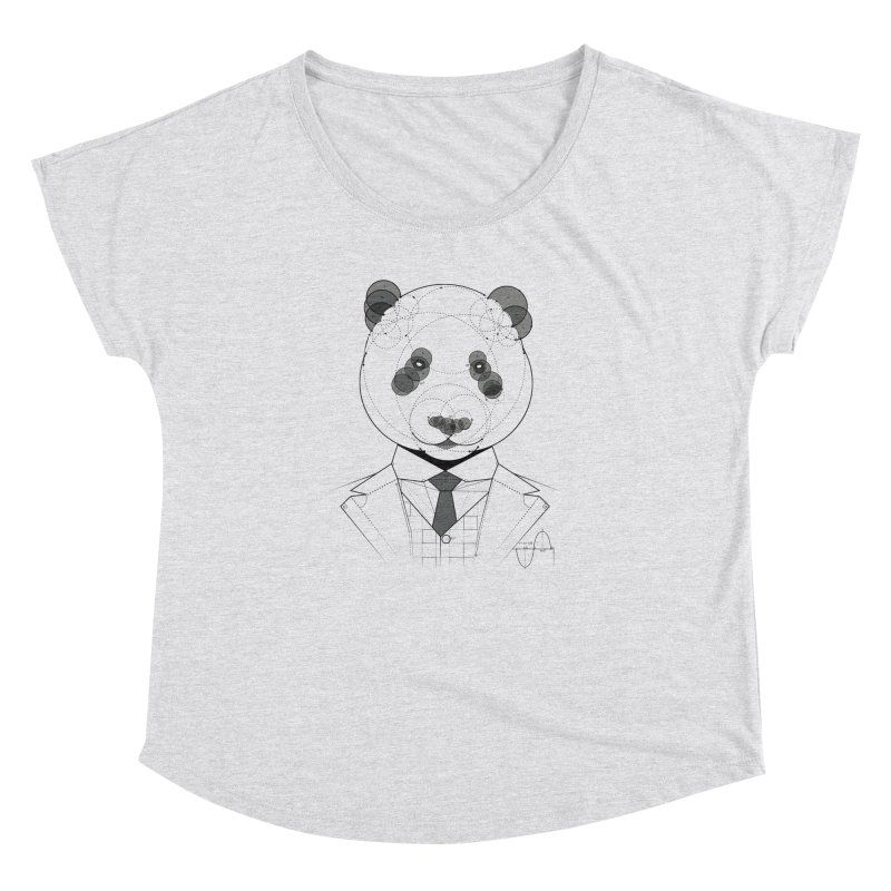 Geometric Panda Women's Dolman by yurilobo's Artist Shop
