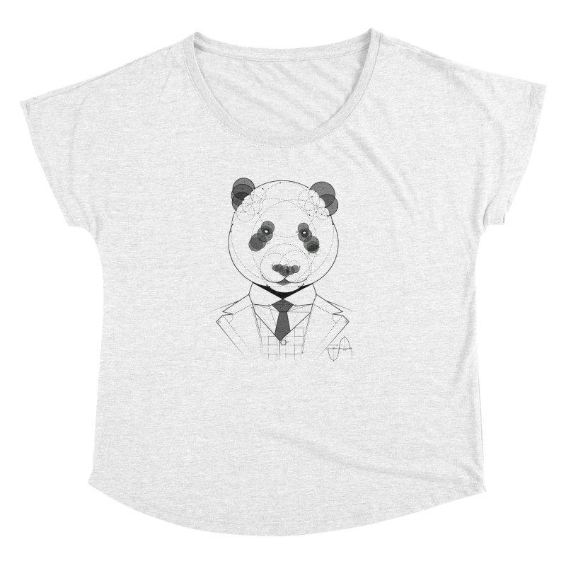 Geometric Panda Women's Dolman by yurilobo's Artist Shop