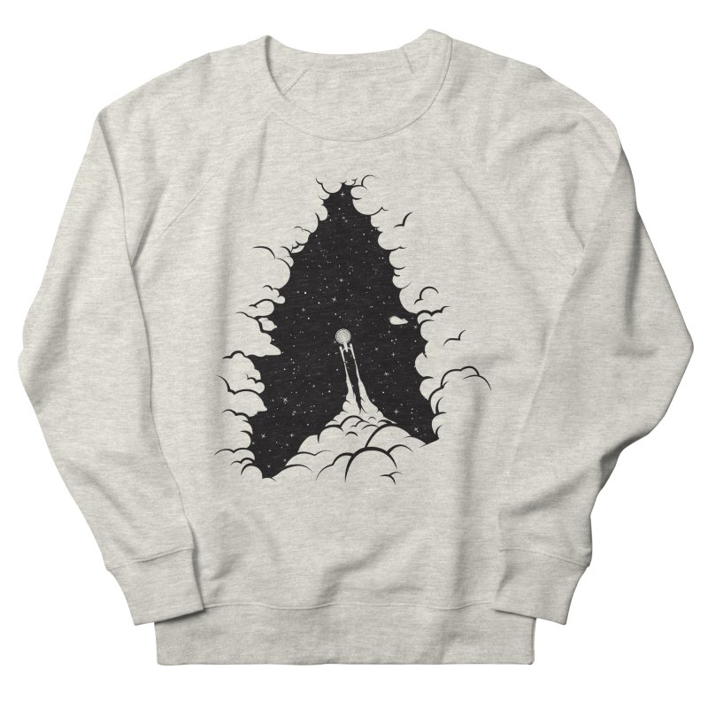 Frontier Men's French Terry Sweatshirt by yurilobo's Artist Shop