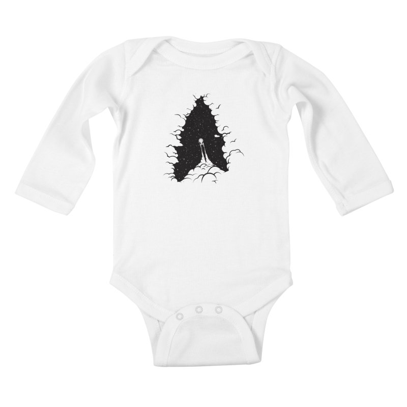 Frontier Kids Baby Longsleeve Bodysuit by yurilobo's Artist Shop