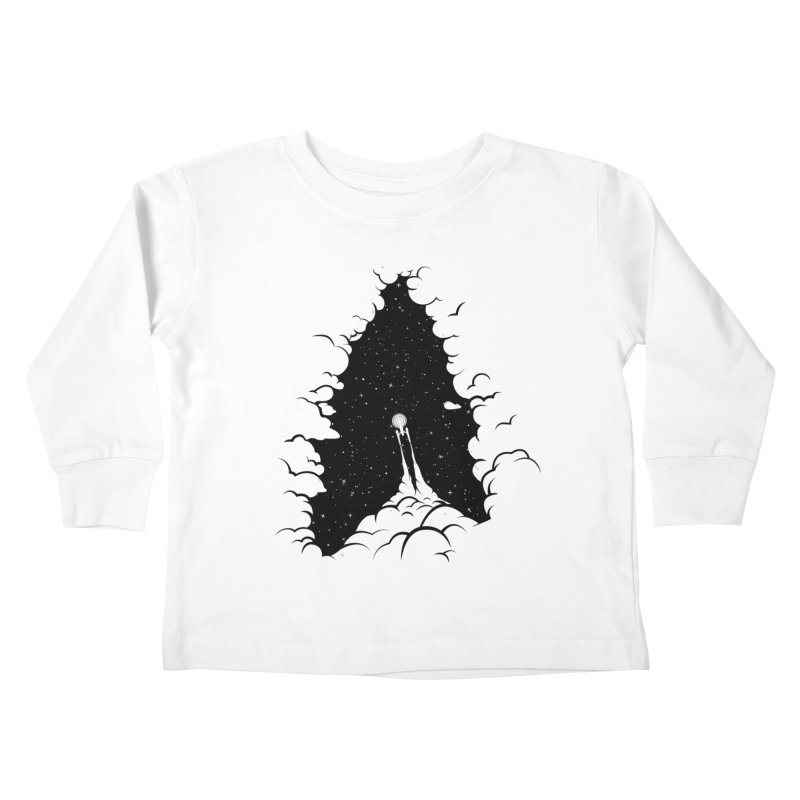 Frontier Kids Toddler Longsleeve T-Shirt by yurilobo's Artist Shop