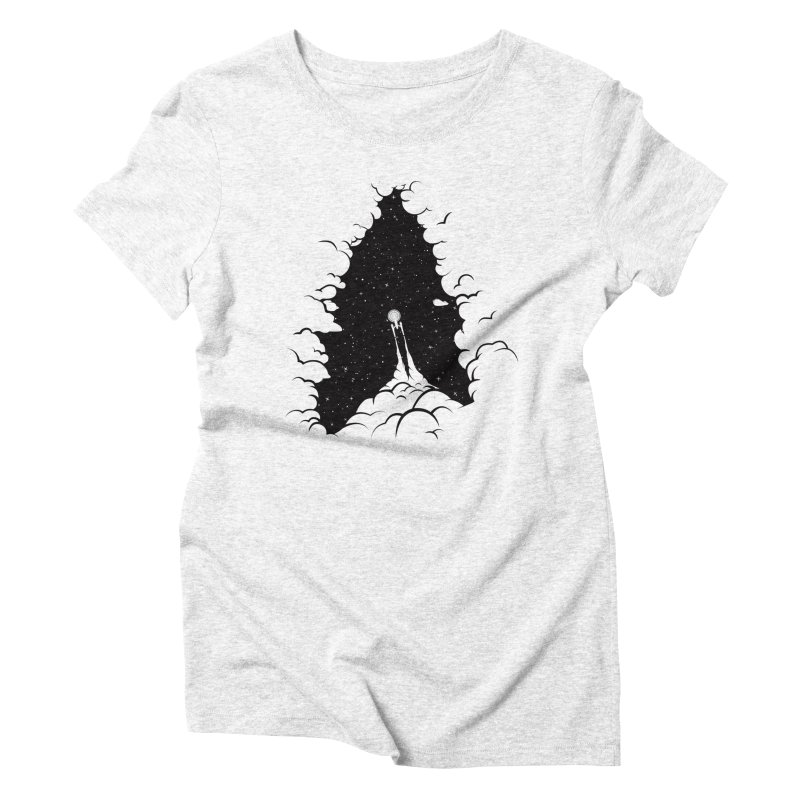 Frontier Women's Triblend T-shirt by yurilobo's Artist Shop