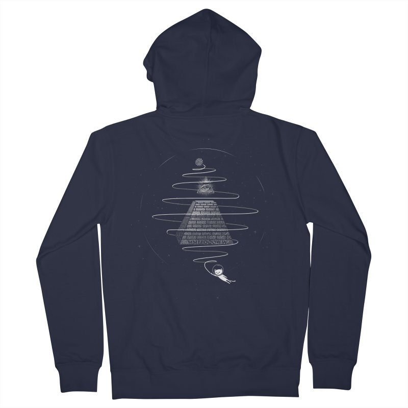 World Domination Men's French Terry Zip-Up Hoody by yurilobo's Artist Shop