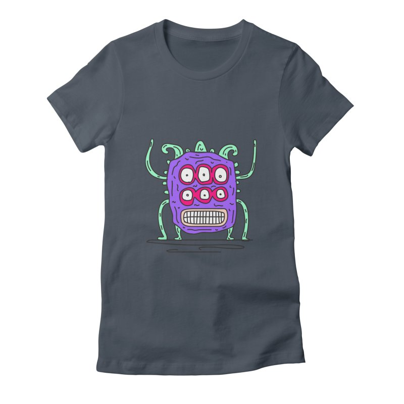 Yuvsketch Monsters - Monster 1 Women's T-Shirt by Yuvsketch's Shop