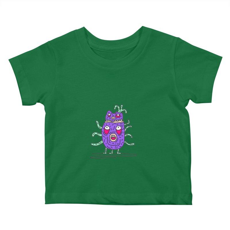 Yuvsketch Monsters - Monster 11 Kids Baby T-Shirt by Yuvsketch's Shop