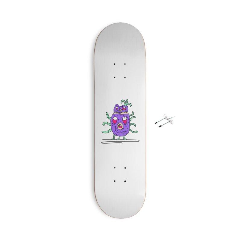 Yuvsketch Monsters - Monster 11 Accessories Skateboard by Yuvsketch's Shop