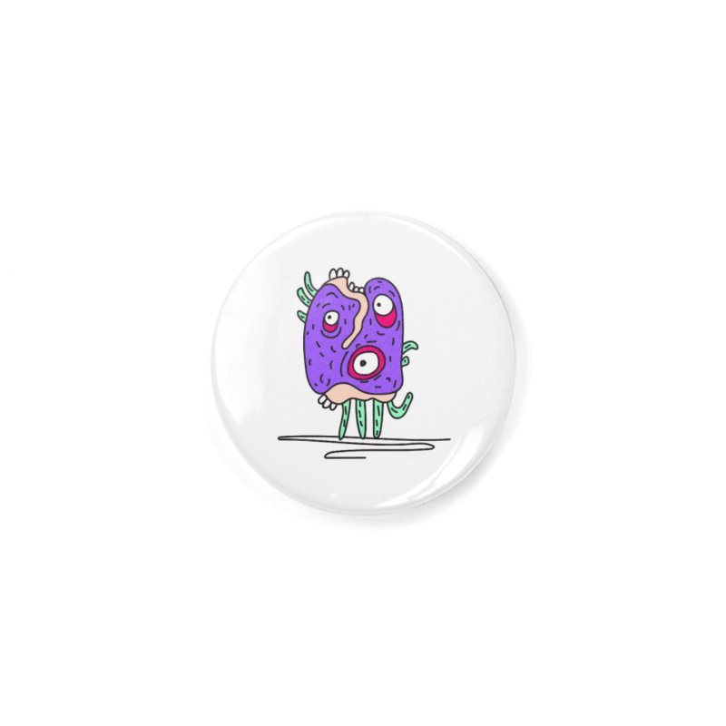 Yuvsketch Monsters - Monster 12 Accessories Button by Yuvsketch's Shop