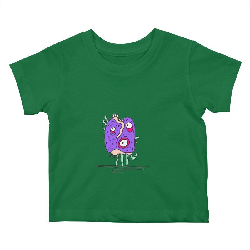 Yuvsketch Monsters - Monster 12 Kids Baby T-Shirt by Yuvsketch's Shop