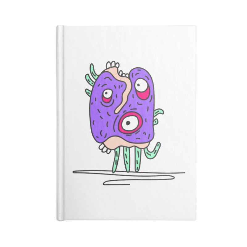 Yuvsketch Monsters - Monster 12 Accessories Notebook by Yuvsketch's Shop