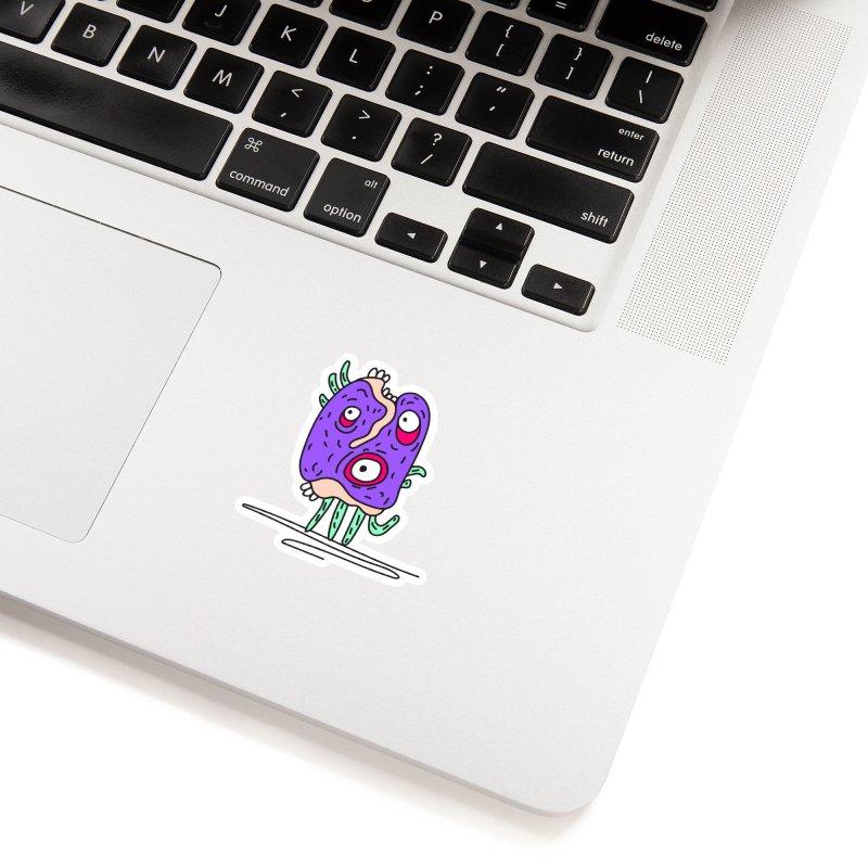 Yuvsketch Monsters - Monster 12 Accessories Sticker by Yuvsketch's Shop