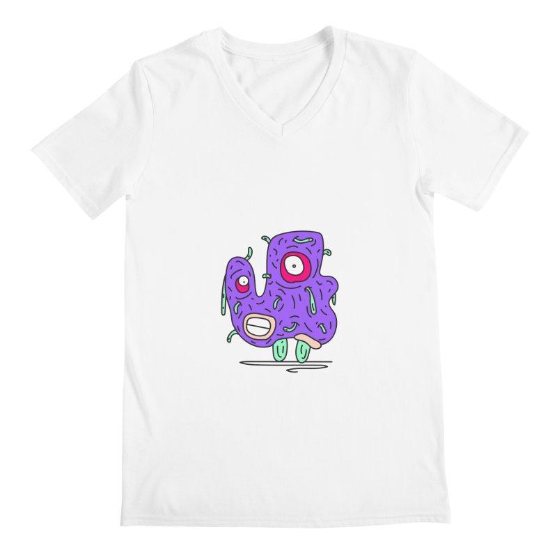 Yuvsketch Monsters - Monster 13 Men's V-Neck by Yuvsketch's Shop