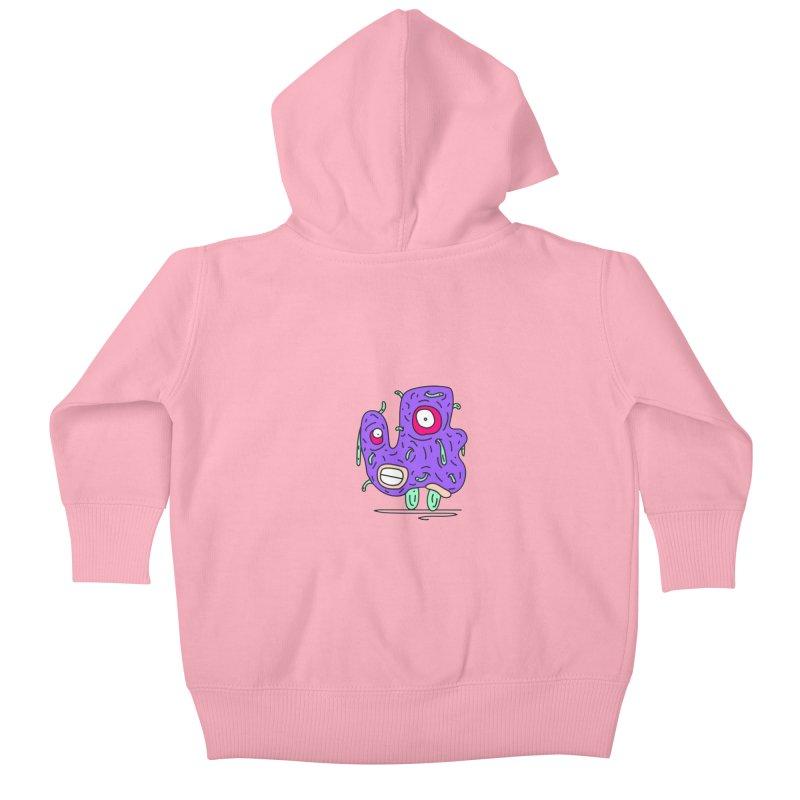 Yuvsketch Monsters - Monster 13 Kids Baby Zip-Up Hoody by Yuvsketch's Shop