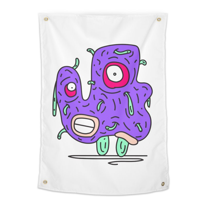 Yuvsketch Monsters - Monster 13 Home Tapestry by Yuvsketch's Shop