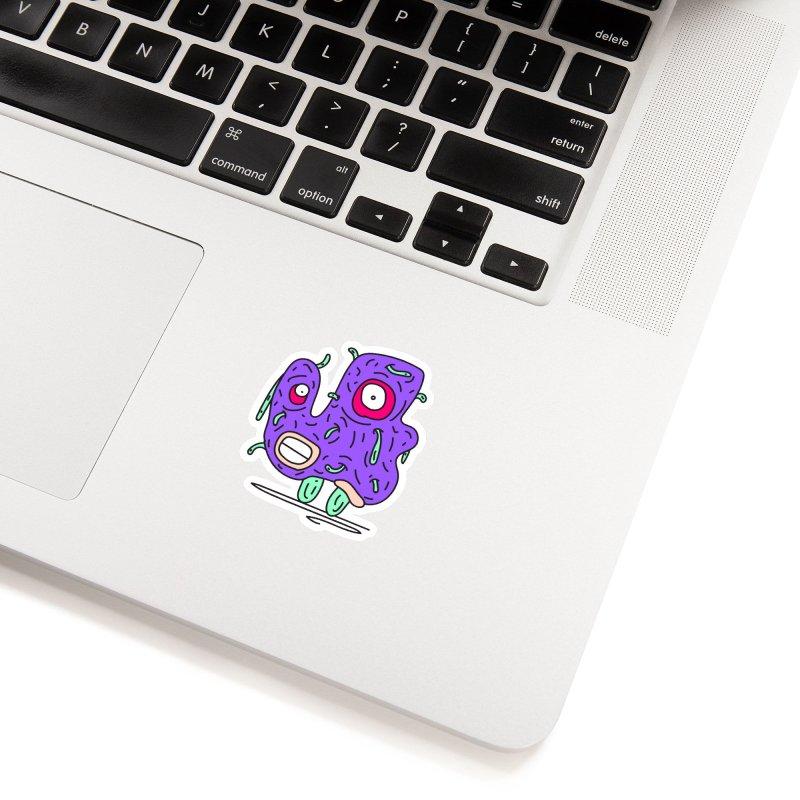Yuvsketch Monsters - Monster 13 Accessories Sticker by Yuvsketch's Shop