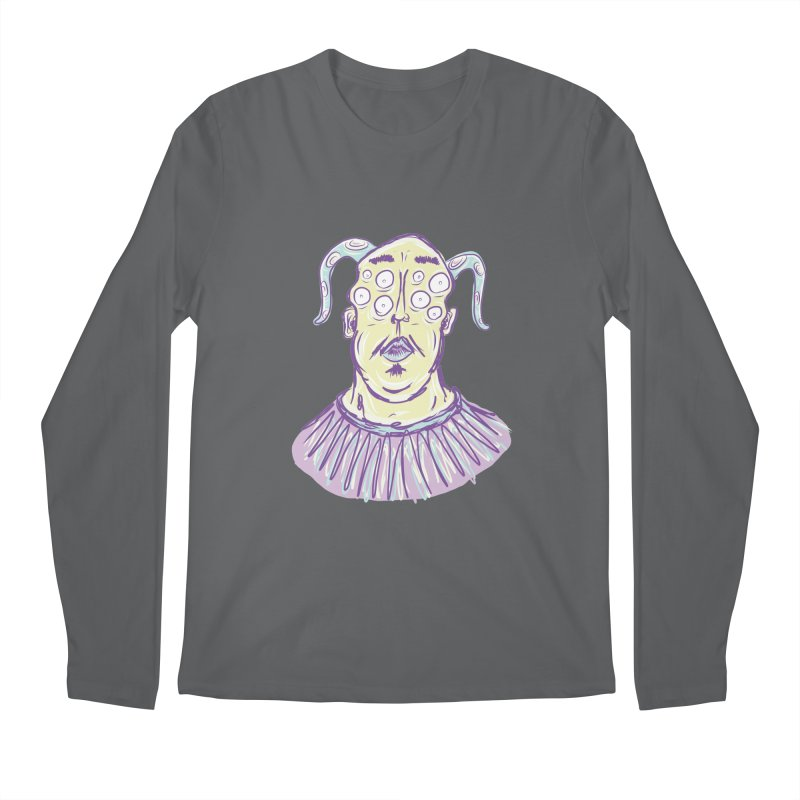Yuvsketch - Shock Monster 1 Men's Longsleeve T-Shirt by Yuvsketch's Shop