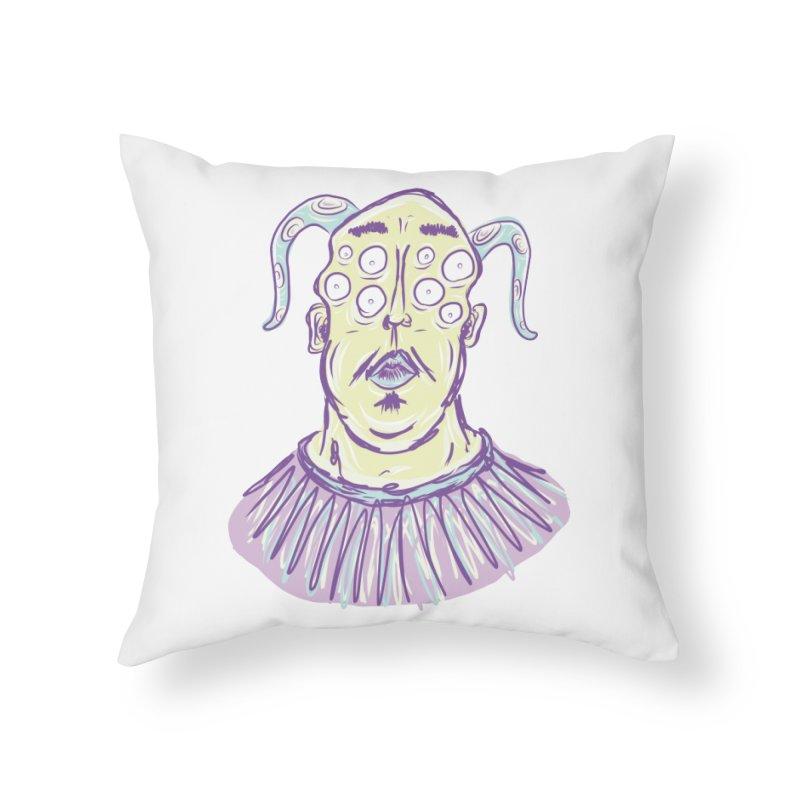 Yuvsketch - Shock Monster 1 Home Throw Pillow by Yuvsketch's Shop