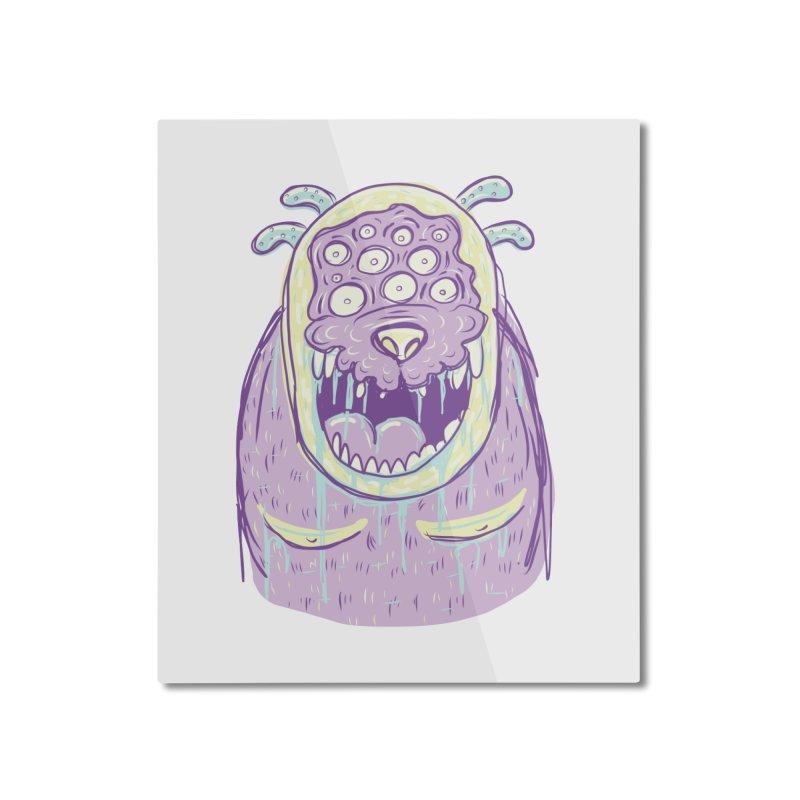 Yuvsketch - Shock Monster 2 Home Mounted Aluminum Print by Yuvsketch's Shop