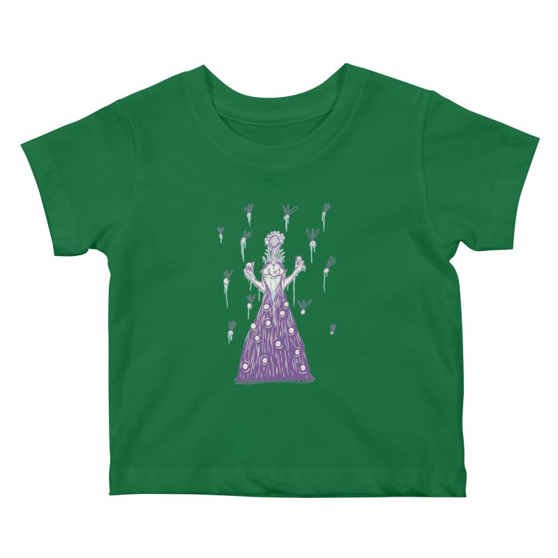Yuvsketch - Shock Monster 4 Kids Baby T-Shirt by Yuvsketch's Shop