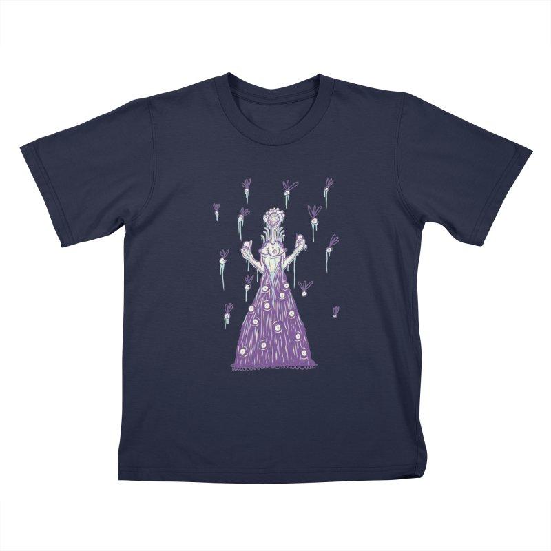 Yuvsketch - Shock Monster 4 Kids T-Shirt by Yuvsketch's Shop