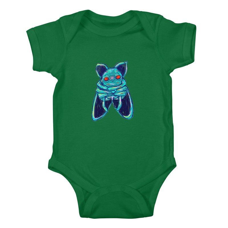 Yuvsketch Mix - Fly Bat Kids Baby Bodysuit by Yuvsketch's Shop