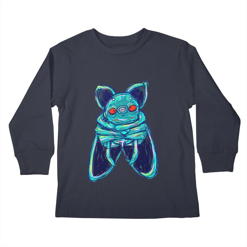 Yuvsketch Mix - Fly Bat Kids Longsleeve T-Shirt by Yuvsketch's Shop