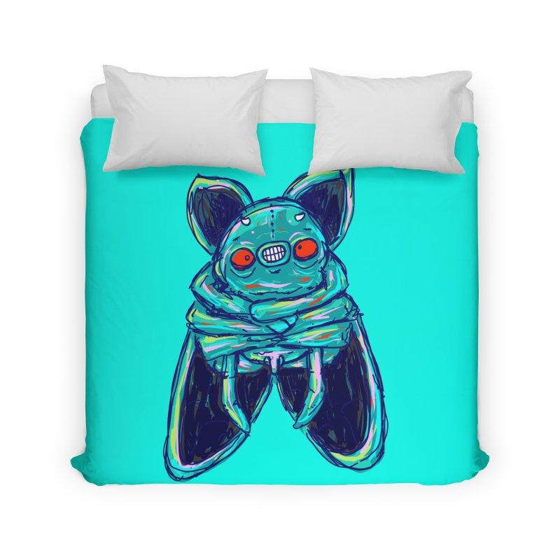 Yuvsketch Mix - Fly Bat Home Duvet by Yuvsketch's Shop