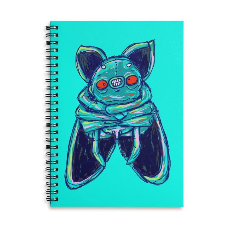 Yuvsketch Mix - Fly Bat Accessories Notebook by Yuvsketch's Shop