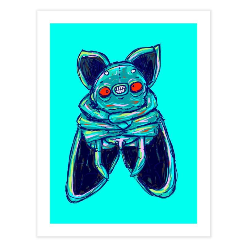 Yuvsketch Mix - Fly Bat Home Fine Art Print by Yuvsketch's Shop