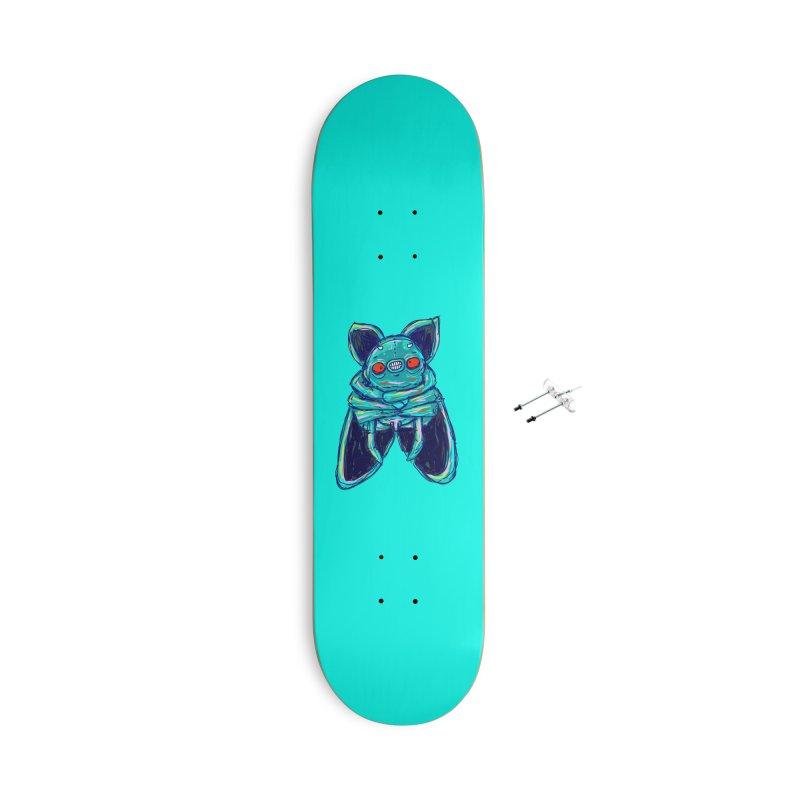 Yuvsketch Mix - Fly Bat Accessories Skateboard by Yuvsketch's Shop