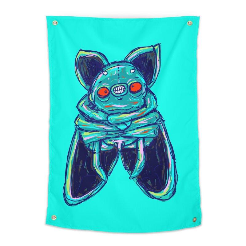 Yuvsketch Mix - Fly Bat Home Tapestry by Yuvsketch's Shop