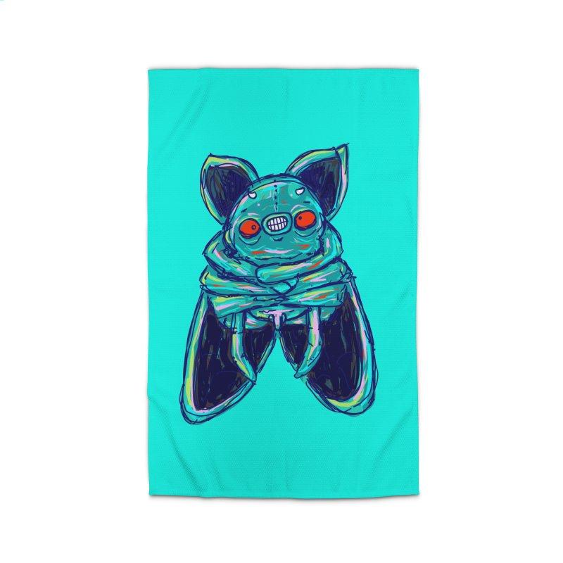 Yuvsketch Mix - Fly Bat Home Rug by Yuvsketch's Shop