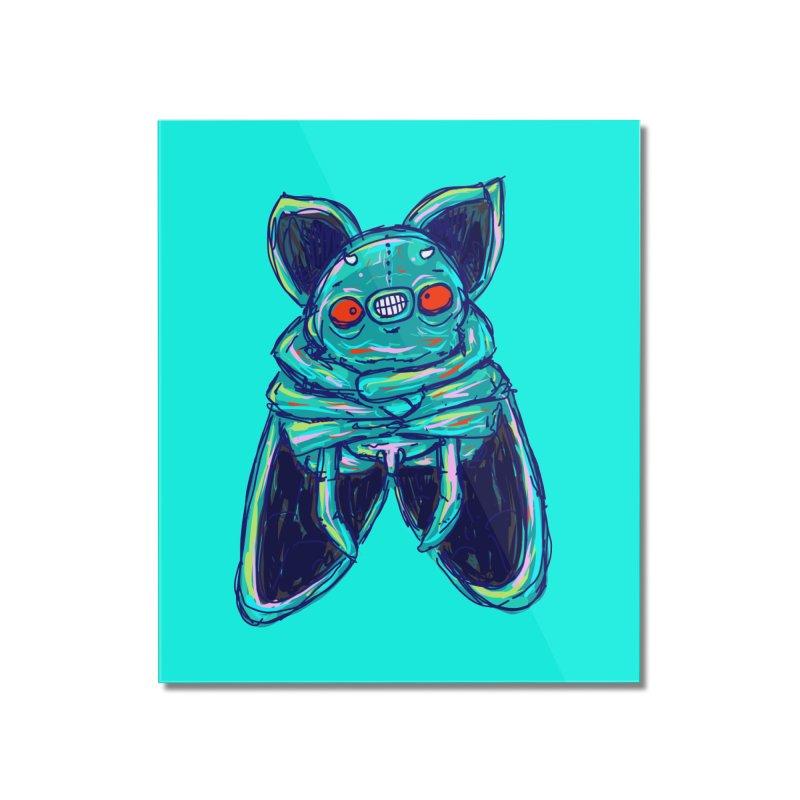Yuvsketch Mix - Fly Bat Home Mounted Acrylic Print by Yuvsketch's Shop
