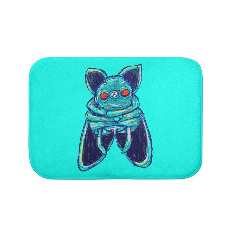 Yuvsketch Mix - Fly Bat Home Bath Mat by Yuvsketch's Shop