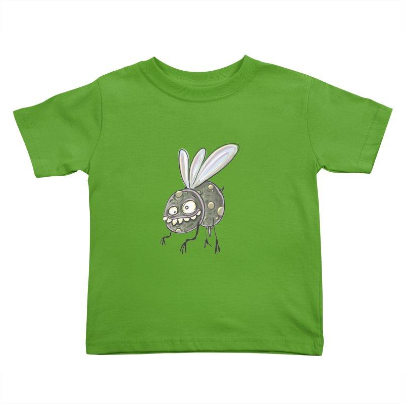 Yuvsketch - Diry Fly Kids Toddler T-Shirt by Yuvsketch's Shop