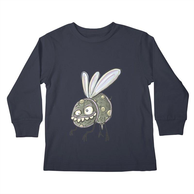 Yuvsketch - Diry Fly Kids Longsleeve T-Shirt by Yuvsketch's Shop